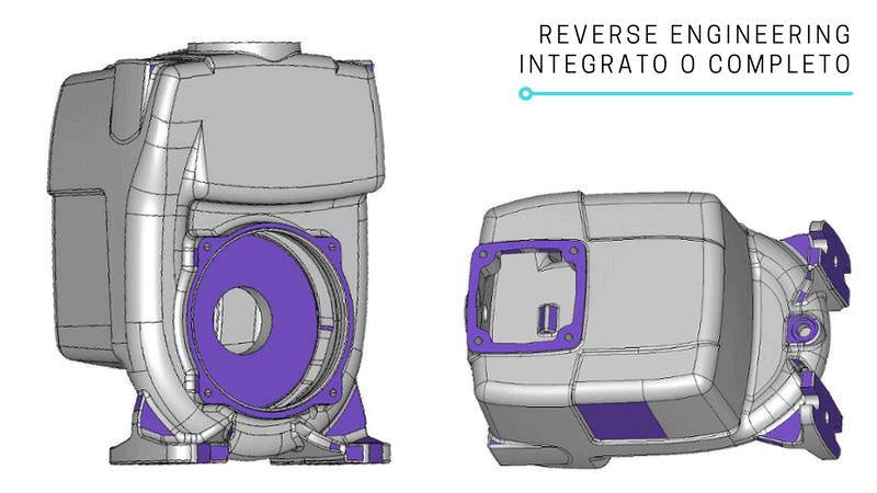 Reverse Engineering integrato o completo | V-GER