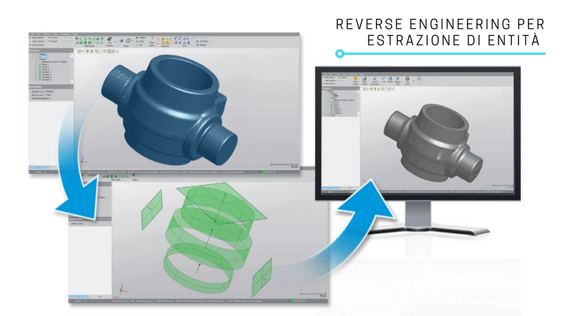 Reverse Engineering per estrazione entita | V-GER