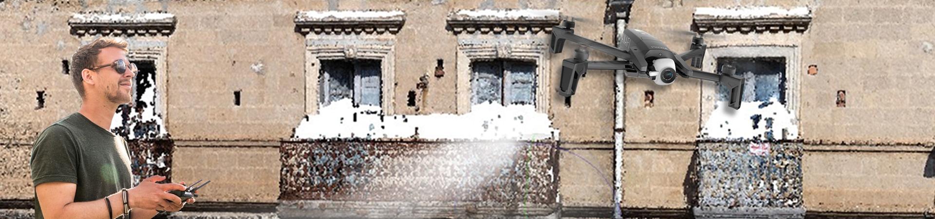 Drone per scanner 3D portatile a fotogrammetria di V-GER