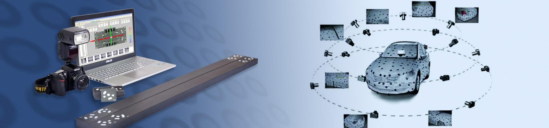 Marker per scanner 3D portatile a fotogrammetria di V-GER