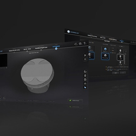 Banner Einscan 2X Pro Plus di V-GER – mobile