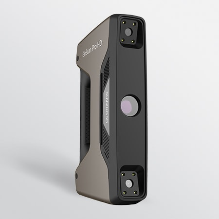 Scanner 3D Einscan Pro HD con V-GER