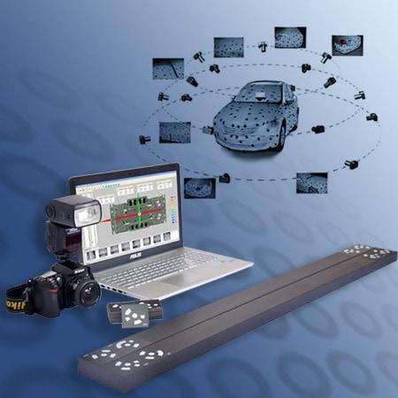 Marker per scanner 3D portatile a fotogrammetria di V-GER – mobile