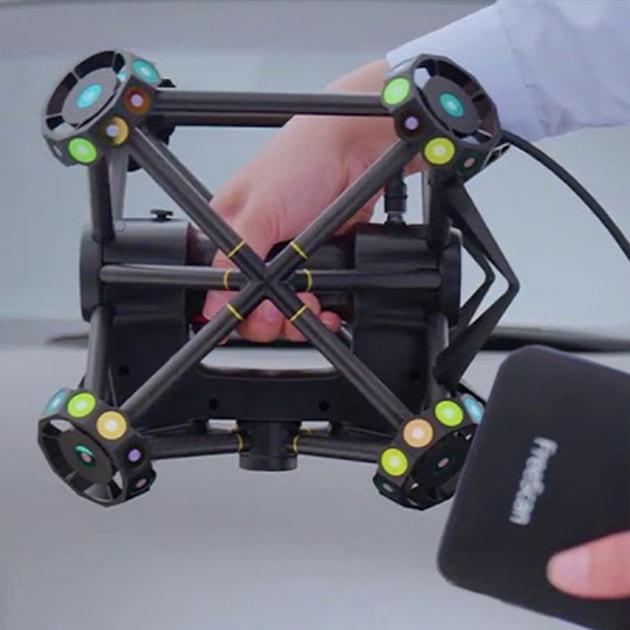 Vendita FreeScan Trak e FreeTrak Probe di V-GER – quadrato
