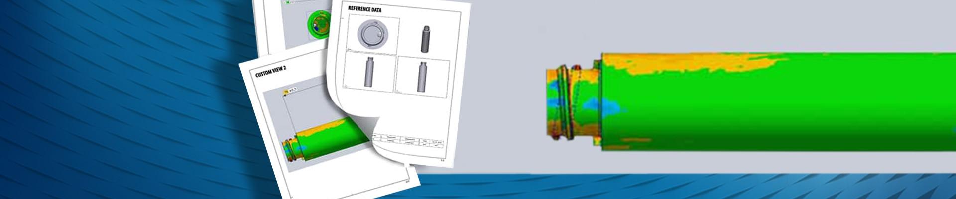 Banner Software di controllo dimensionale di V-GER