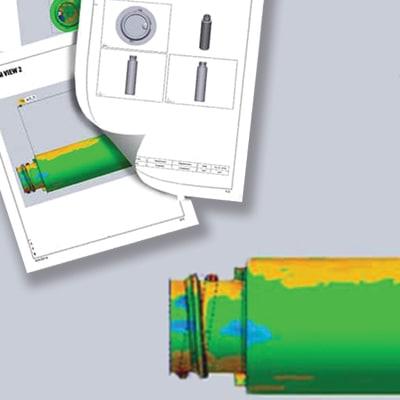 Banner Software di controllo dimensionale di V-GER – quadrato
