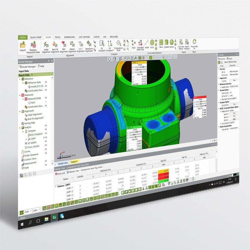 Banner vendita Software di controllo dimensionale di V-GER – quadrato