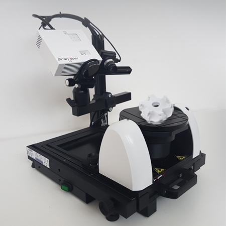 Scanner 3D fissi di V-GER – quadrato