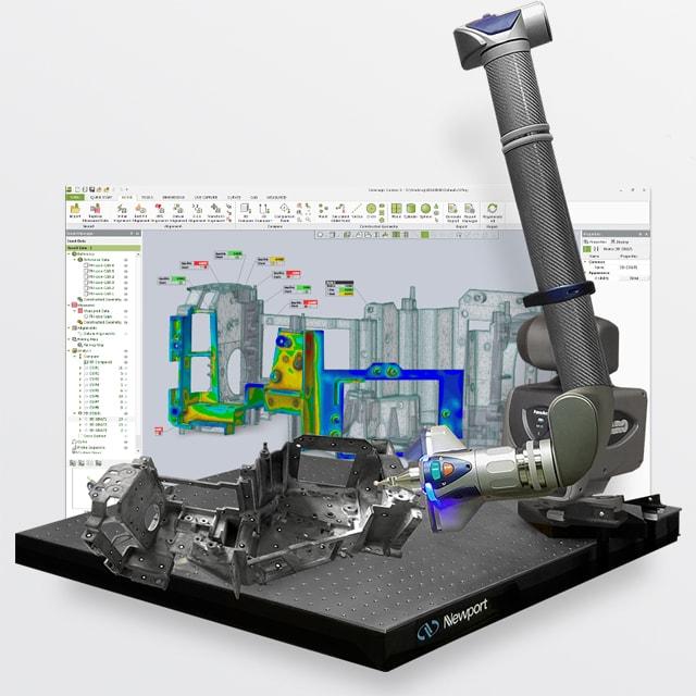 Software controllo dimensionale Geomagic Control di V-GER – quadrato