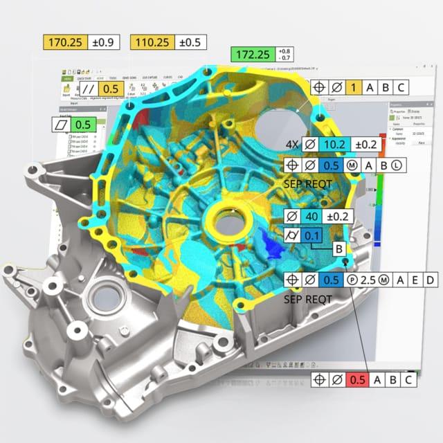 Software Geomagic Control di V-GER – quadrato