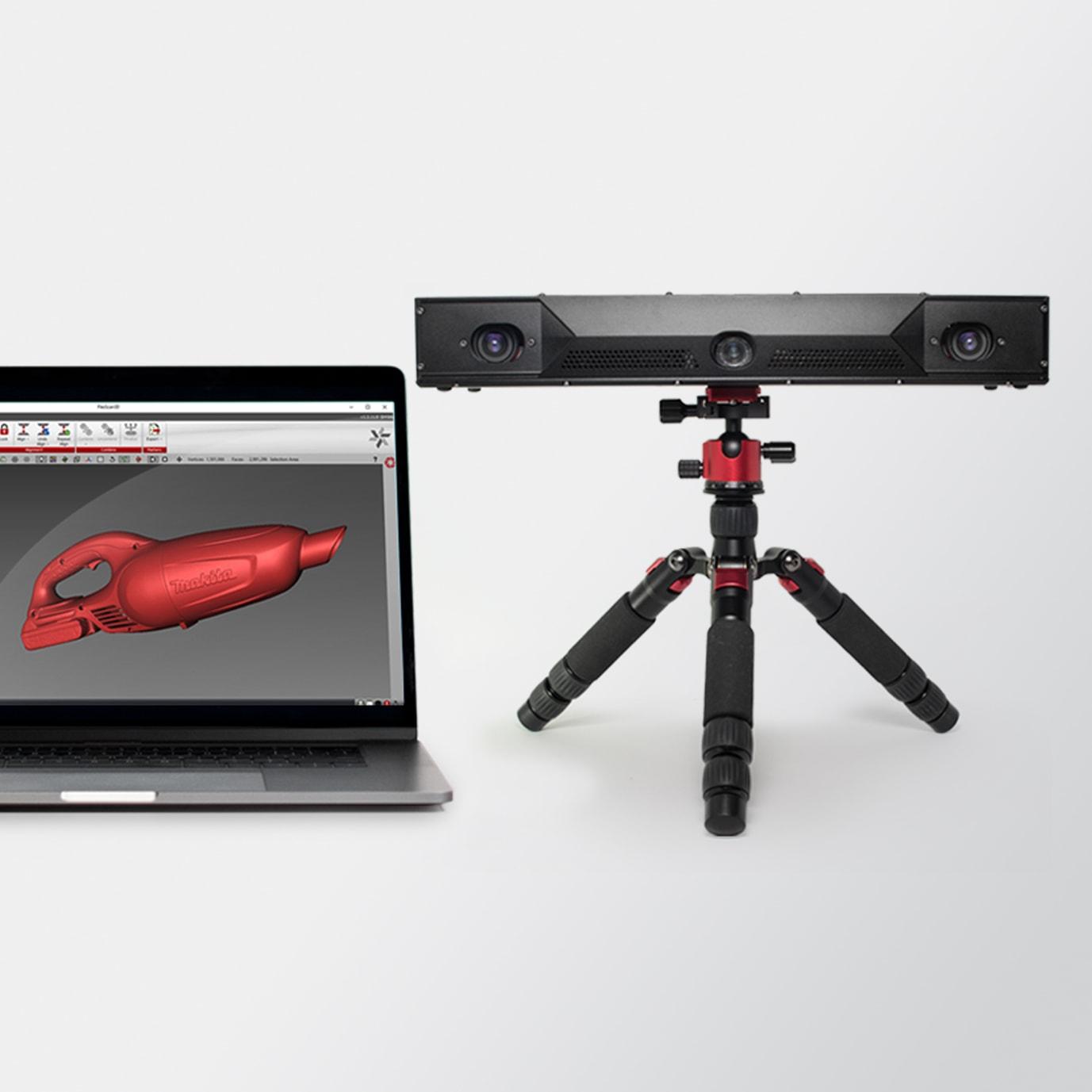 Vendita Scanner 3D fissi HDI Compact di V-GER – quadrato