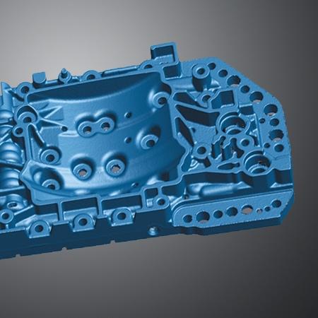 Applicazione di Reverse Engineering con modello CAD di V-GER