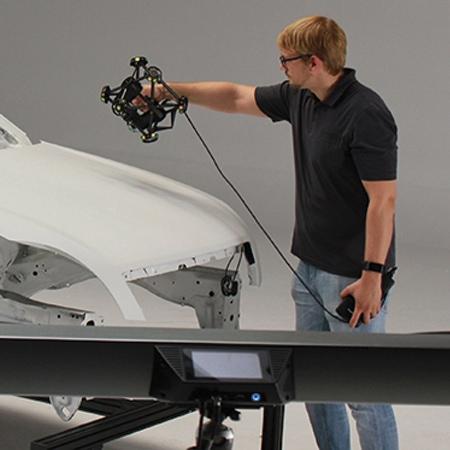 Banner Servizi 3D di Scansione professionale con V-GER – quadrato
