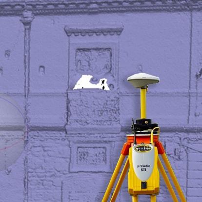 Servizio di Scansione 3D con GPS di V-GER
