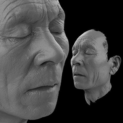 Servizio Scansione 3D dei volti di V-GER