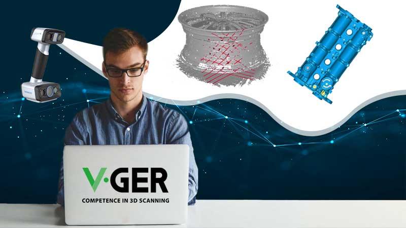 Problematiche di una scansione 3D con V-GER