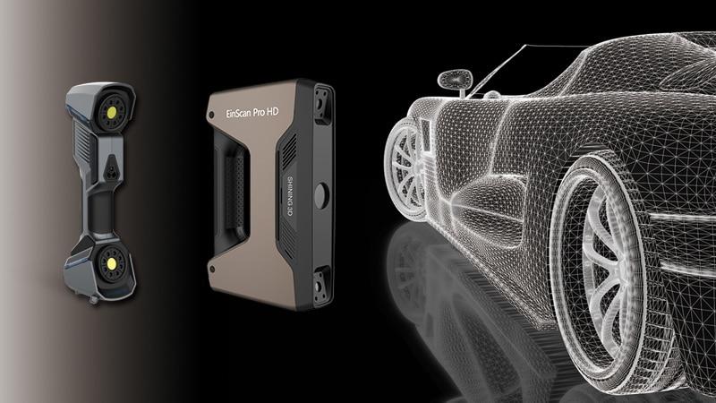 Differenze tra Scanner 3D Laser e Scanner 3D Luce Strutturata con V-GER