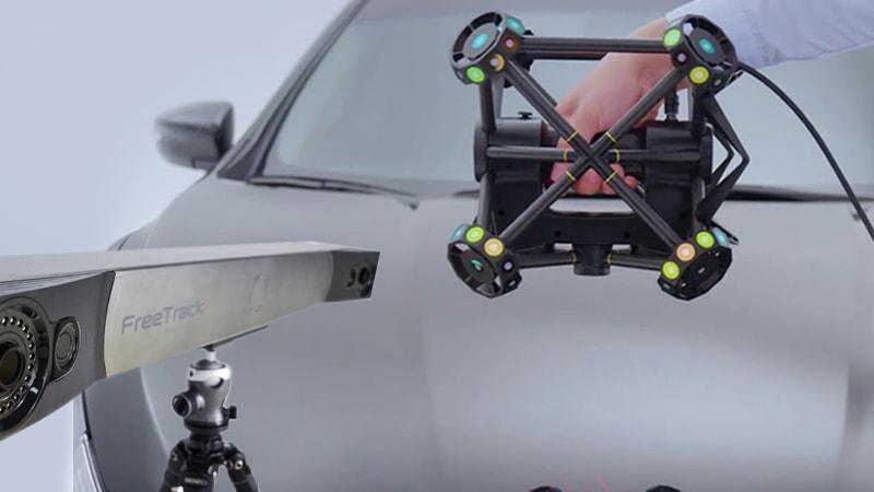Laser Scanner 3D con sistema di tracking di V-GER