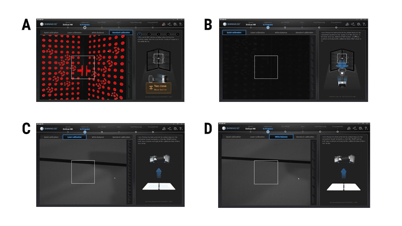Risultati dei test di accuratezza garantita per Scanner EinScan HX con V-GER